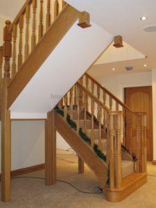 Лестница в частном доме фото