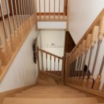 Лестница из дерева с поворотом цена