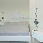 Кровать двуспальная из массива набор