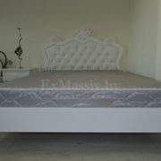 Кровать двуспальная из массива фото