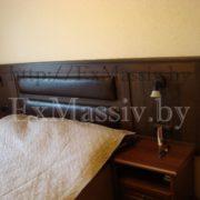 Двуспальная кровать с изголовьем под заказ