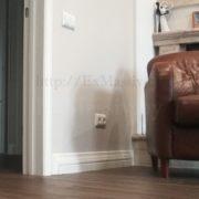 Плинтус деревянный в квартиру
